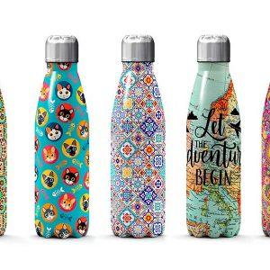 Botellas, Vasos y Termos