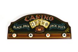 Perchero Casino retro vintage