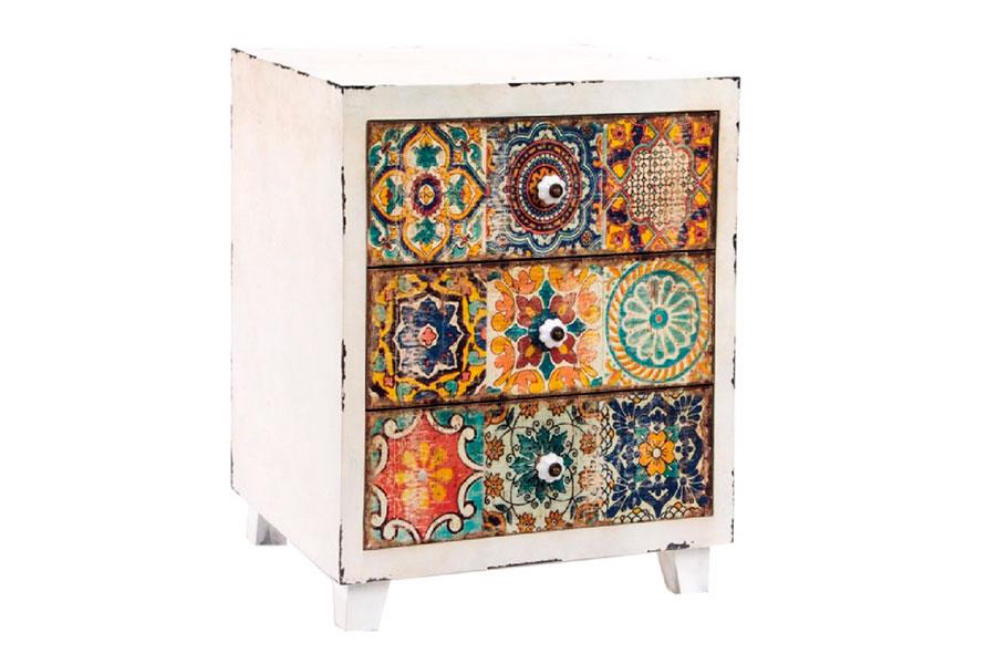 Mueble azulejos vintage zap zap decoraci n regalo art culos retro vintage salamanca - Azulejos vintage ...
