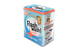 lata jabón lavado