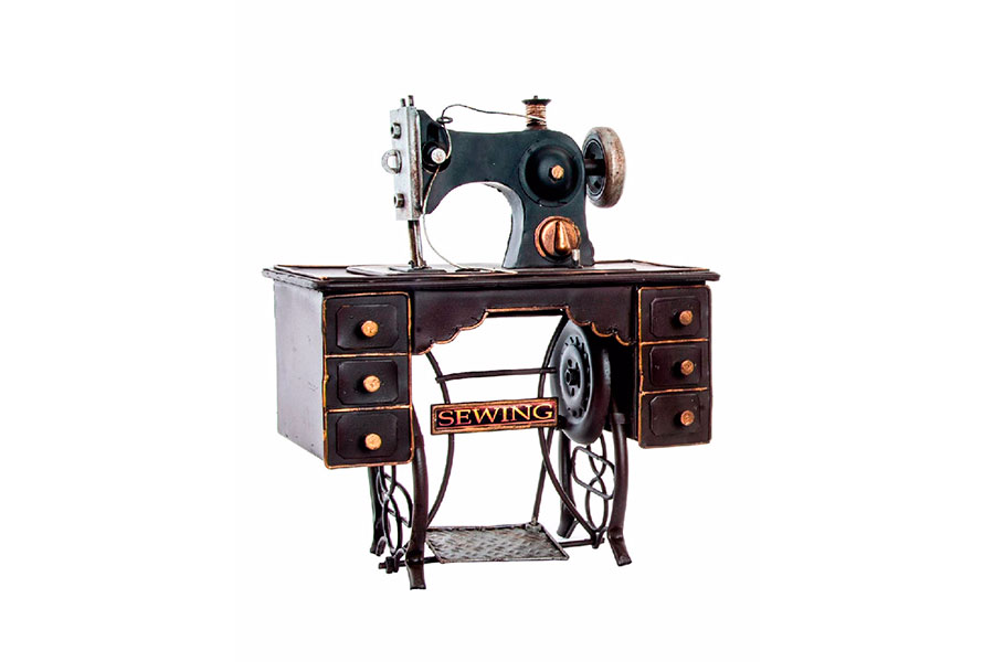 M quina de coser metal antigua zap zap decoraci n - Mesa para maquina de coser ikea ...