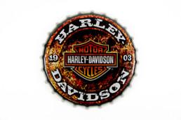 placa-moto-harley-davidson-antigua